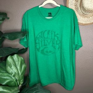 Quiksilver Green Graphic Tee XL